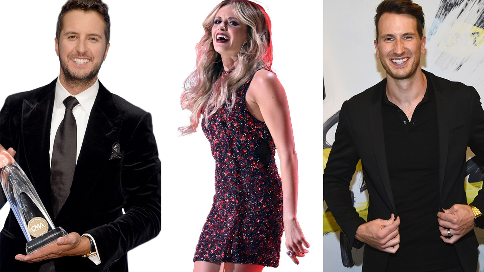 Country singers Luke Bryan, Carly Pearce and Russell Dickerson share their favorite CMA Award memories.
