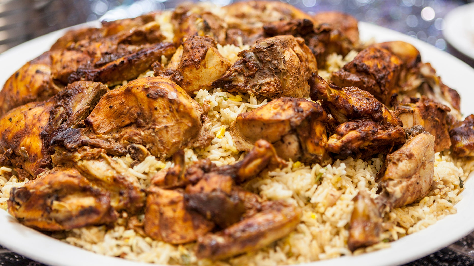 A woman killed her lover then served his remains to Pakistini workers in a traditional meat and rice dish known as machboos, prosecutors said. (File image of traditional rice dish)