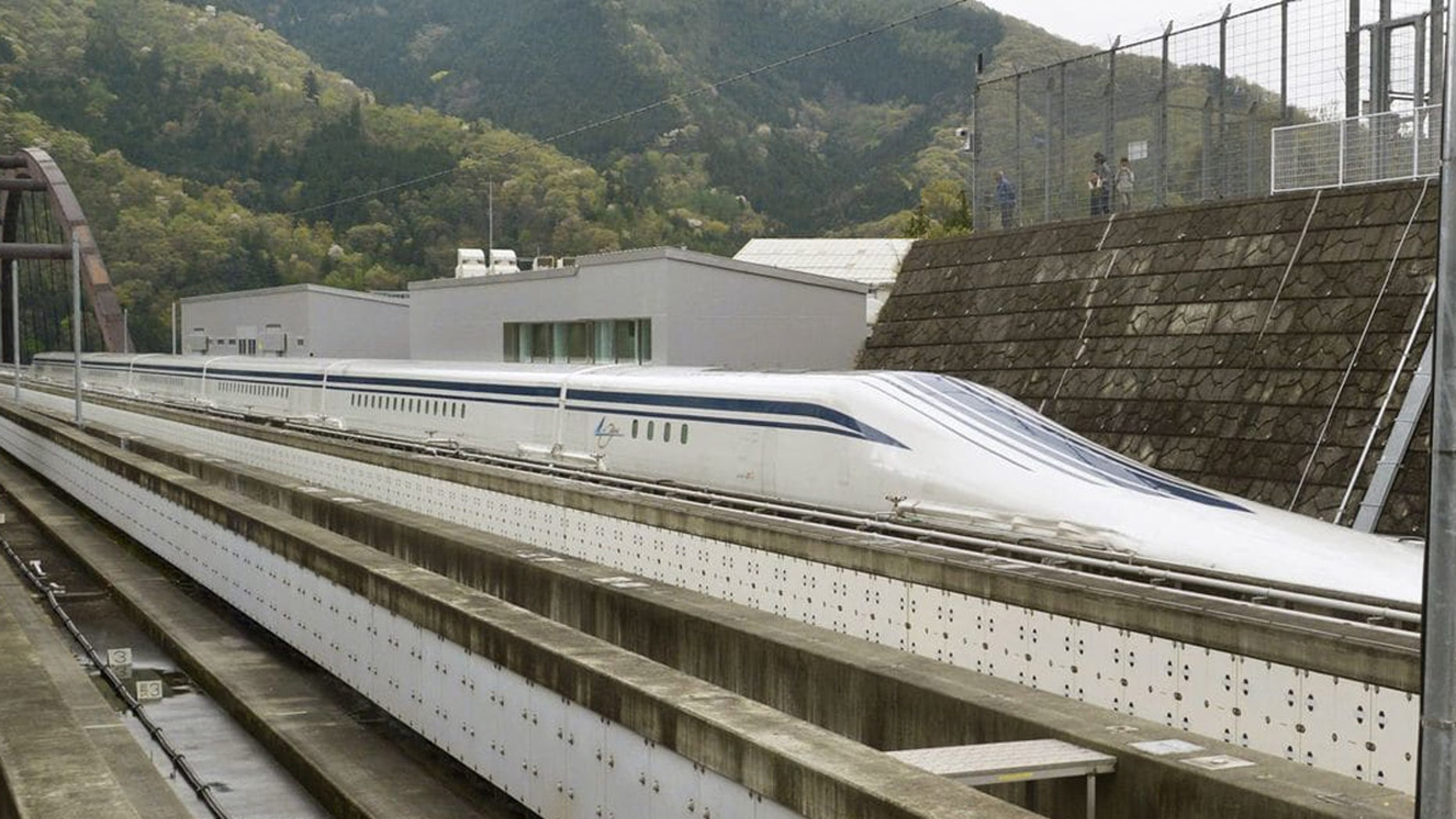 The fastest passenger train in the world runs on the Maglev Test Line in Tsuru, west of Tokyo. Maglev trains could soon connect Washington to Baltimore and eventually New York.