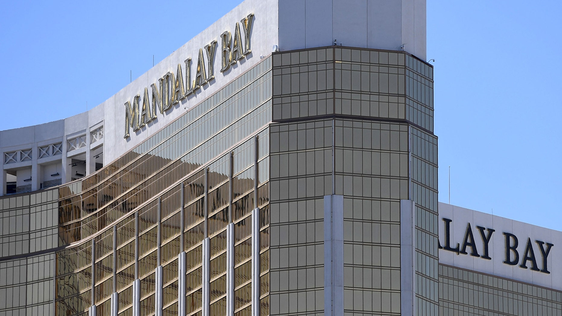 The Mandalay Bay Resort and Casino in Las Vegas. (Getty Images)