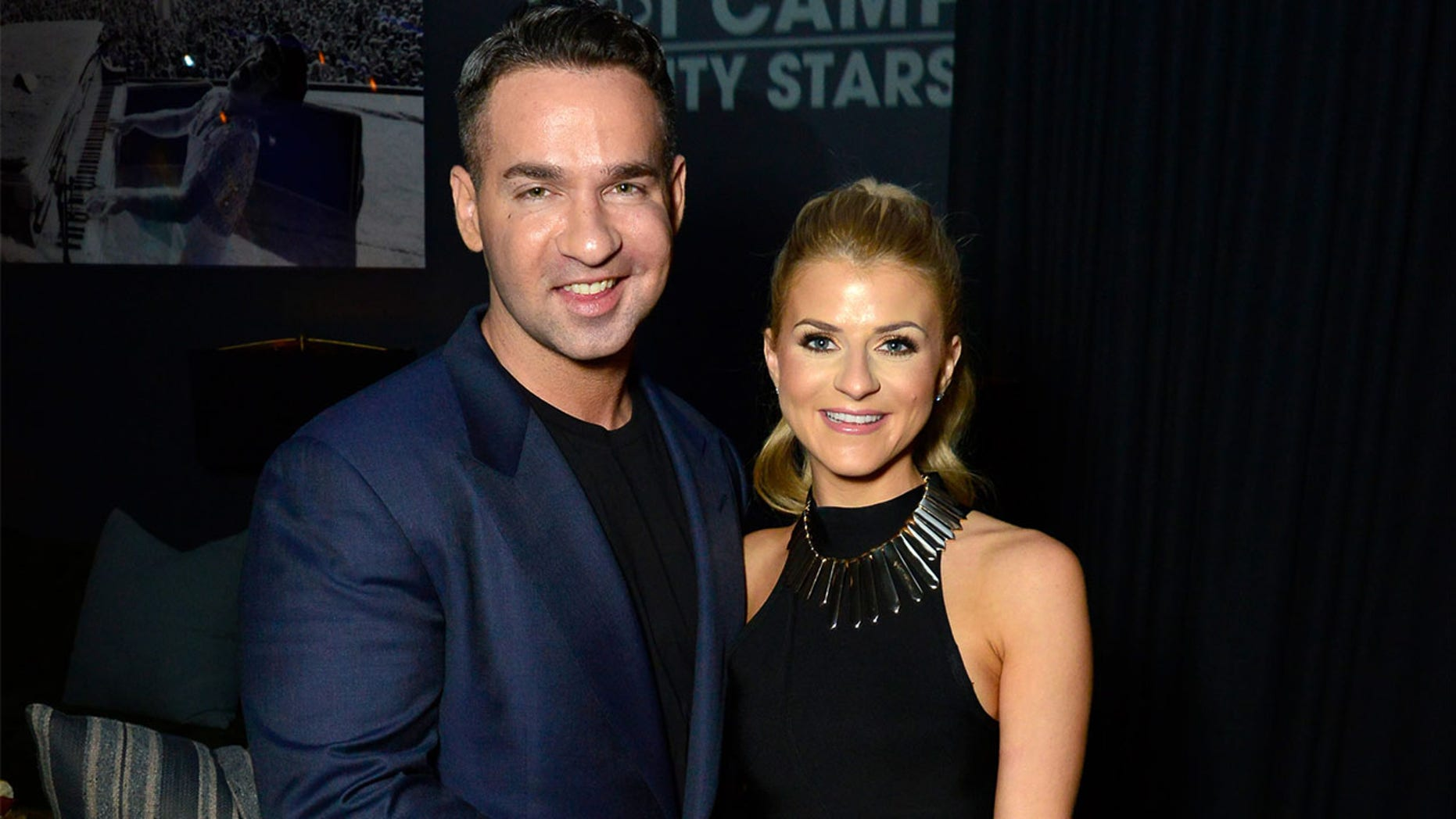 """Mike """"The Situation"""" Sorrentino and Lauren Pesce tied the knot on Thursday."""