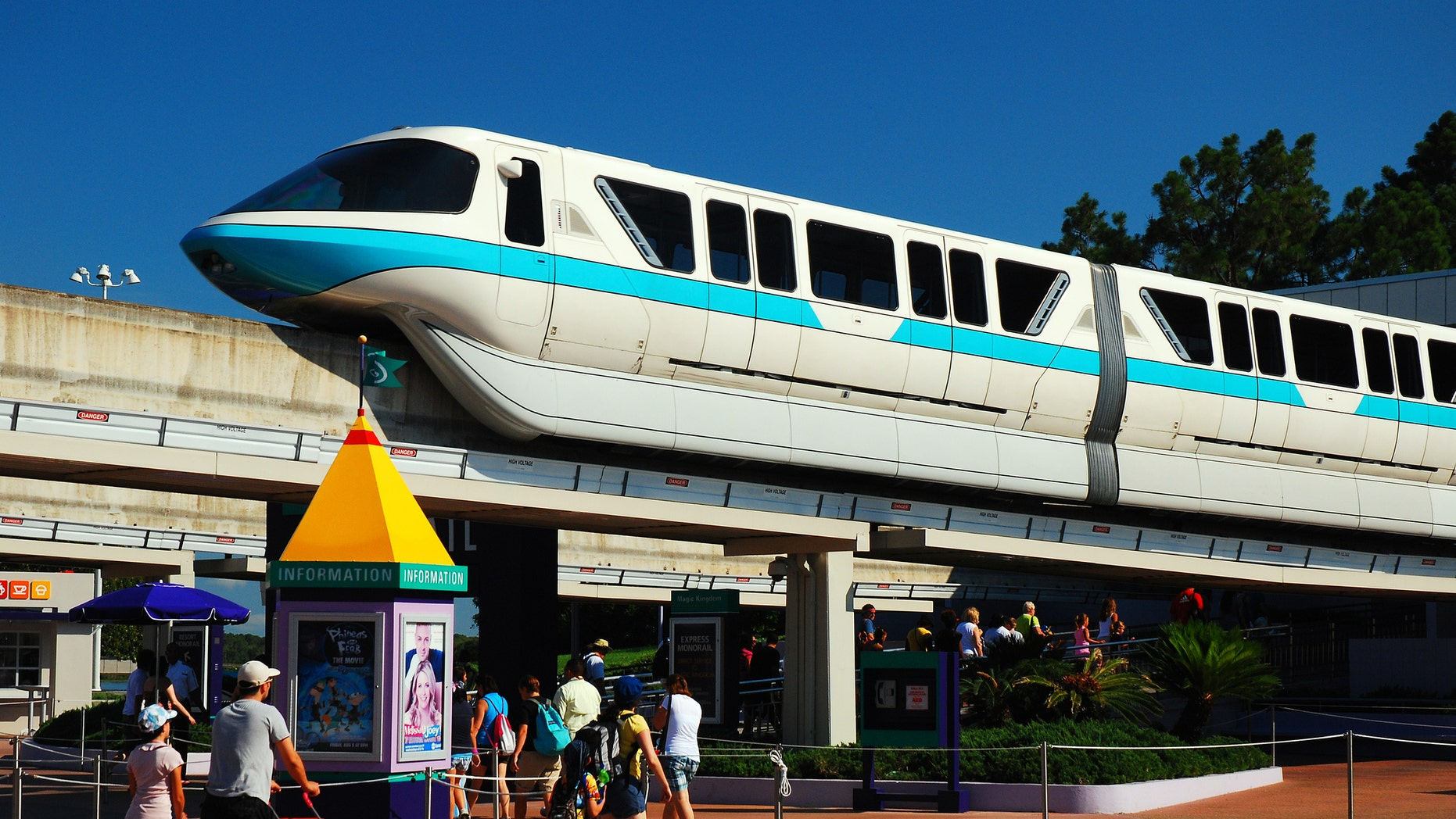 No one was injured, but guests reported hourslong waits while it was being fixed.