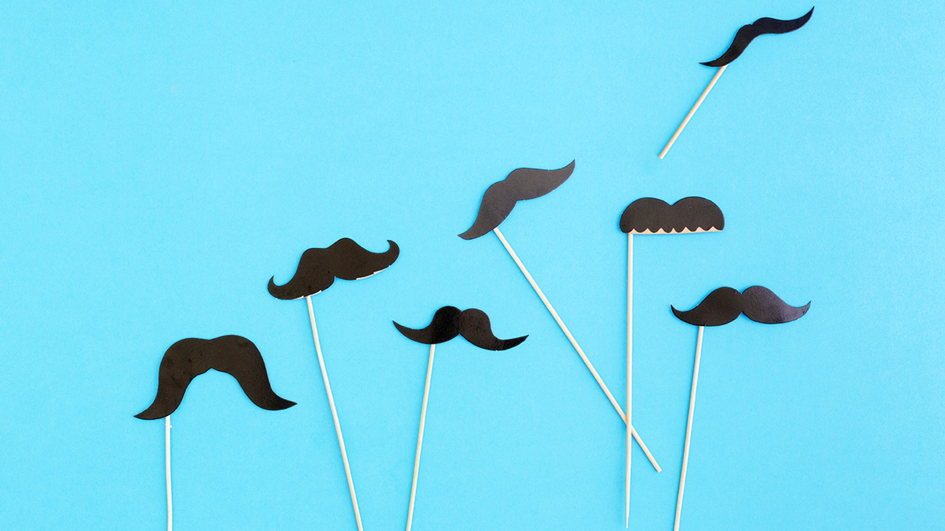It's Movember, which means mustaches everywhere.