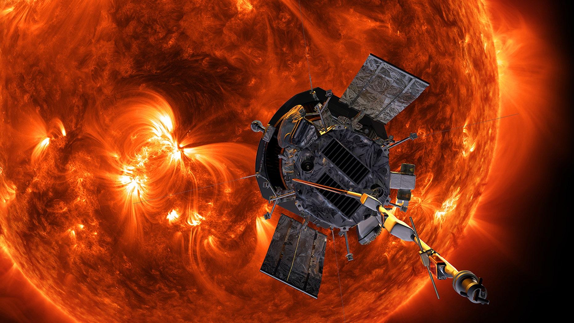 Parker Solar-ის სურათის შედეგი