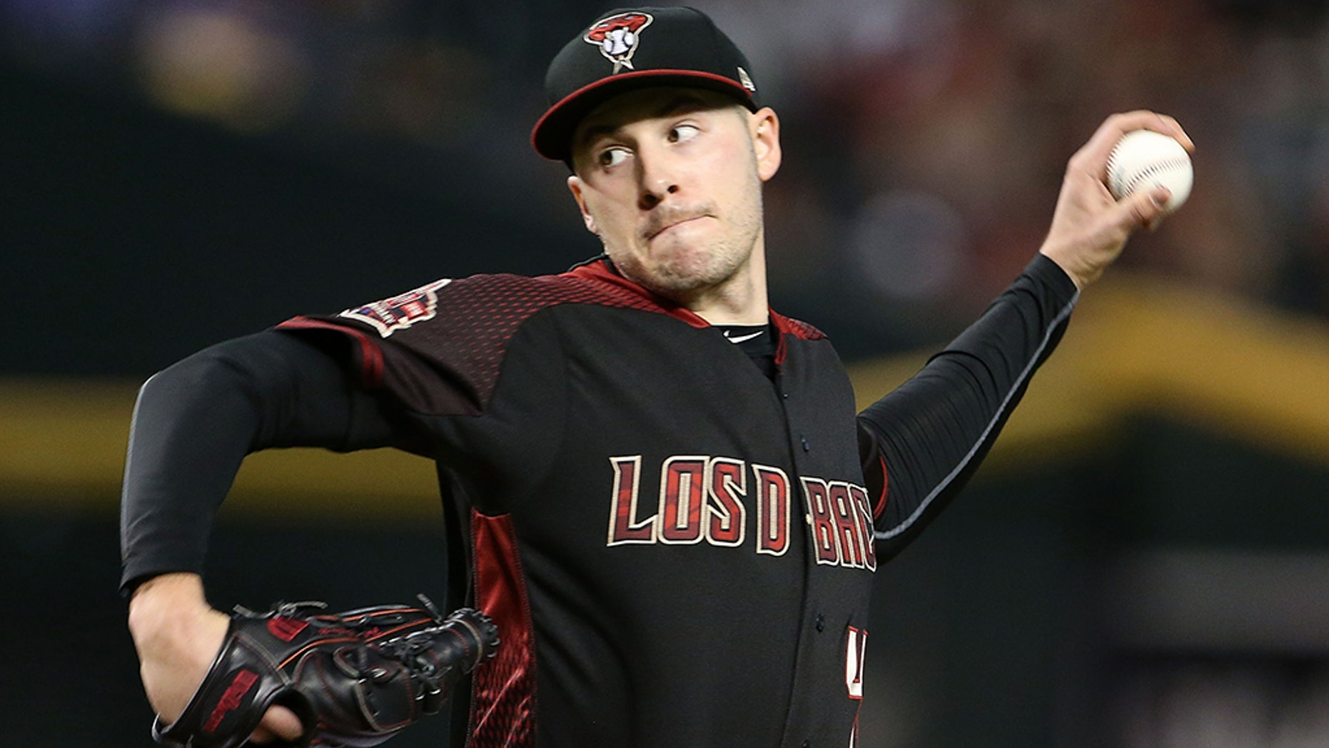 Patrick Corbin Visits Phillies