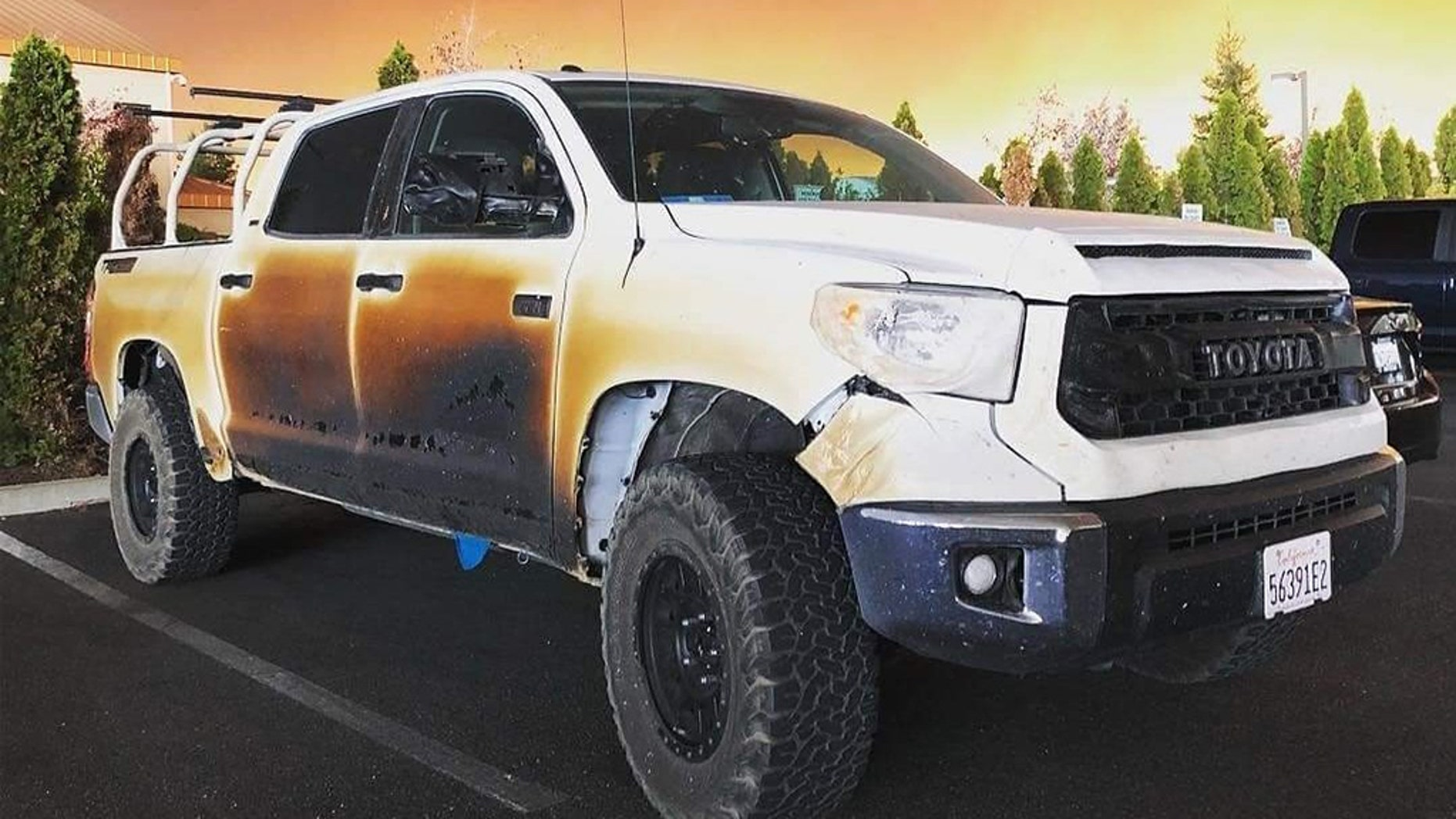 Toyota Offers To Give Camp Fire Hero Nurse A New Truck