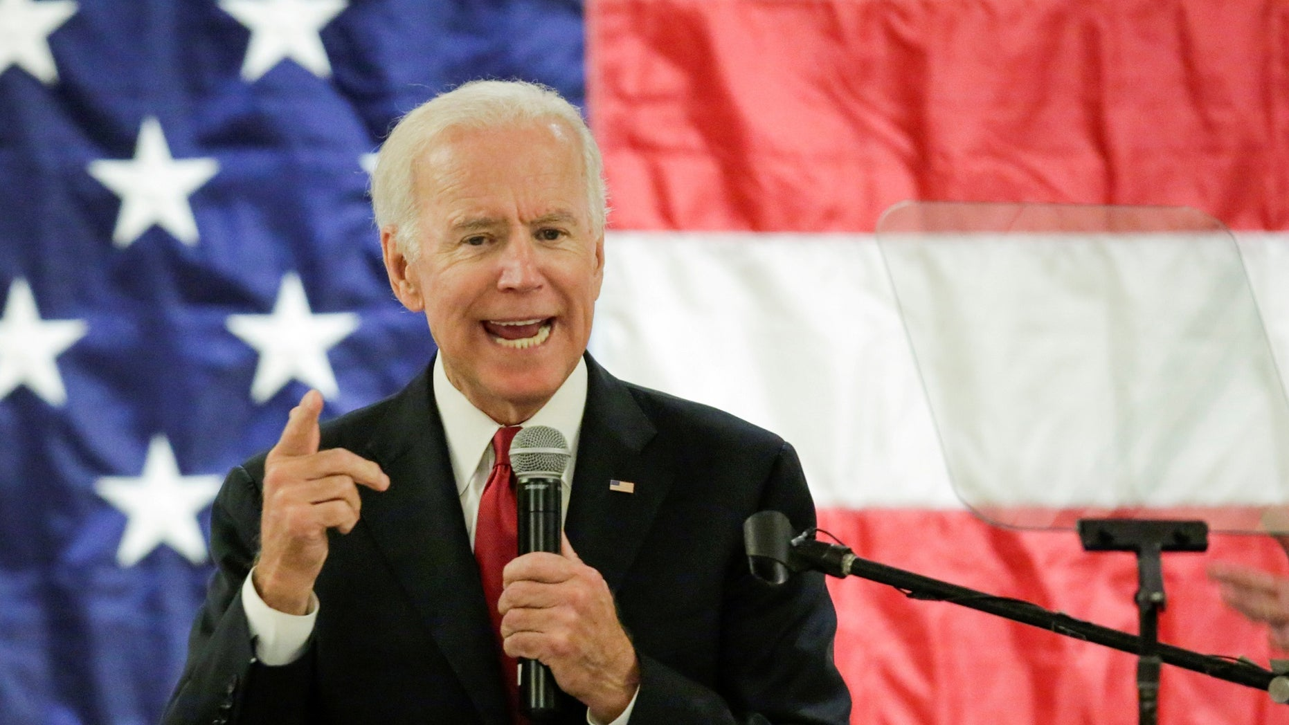 Former Vice President Joe Biden's potential 2020 presidential run may already be in jeopardy, Mark Steyn told Tucker Carlson on Monday night. (Reuters)