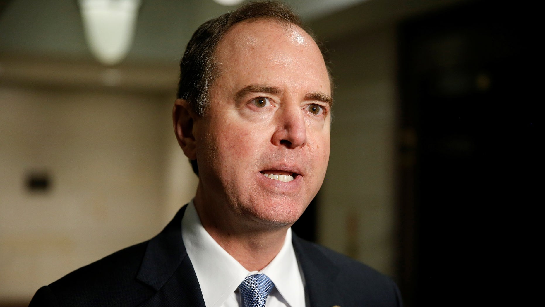 "Rep. Adam Schiff refuses to back down on Trump's guilt amid the conclusion of the Mueller probe, saying that ""undoubtedly there is collusion."""