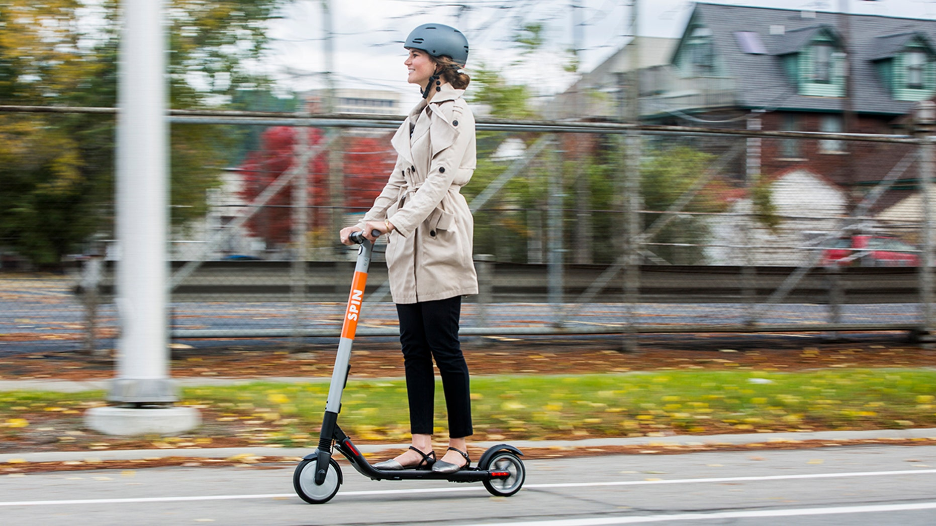 LIFESTYLE Ford is buying scooter startup Spin (F)