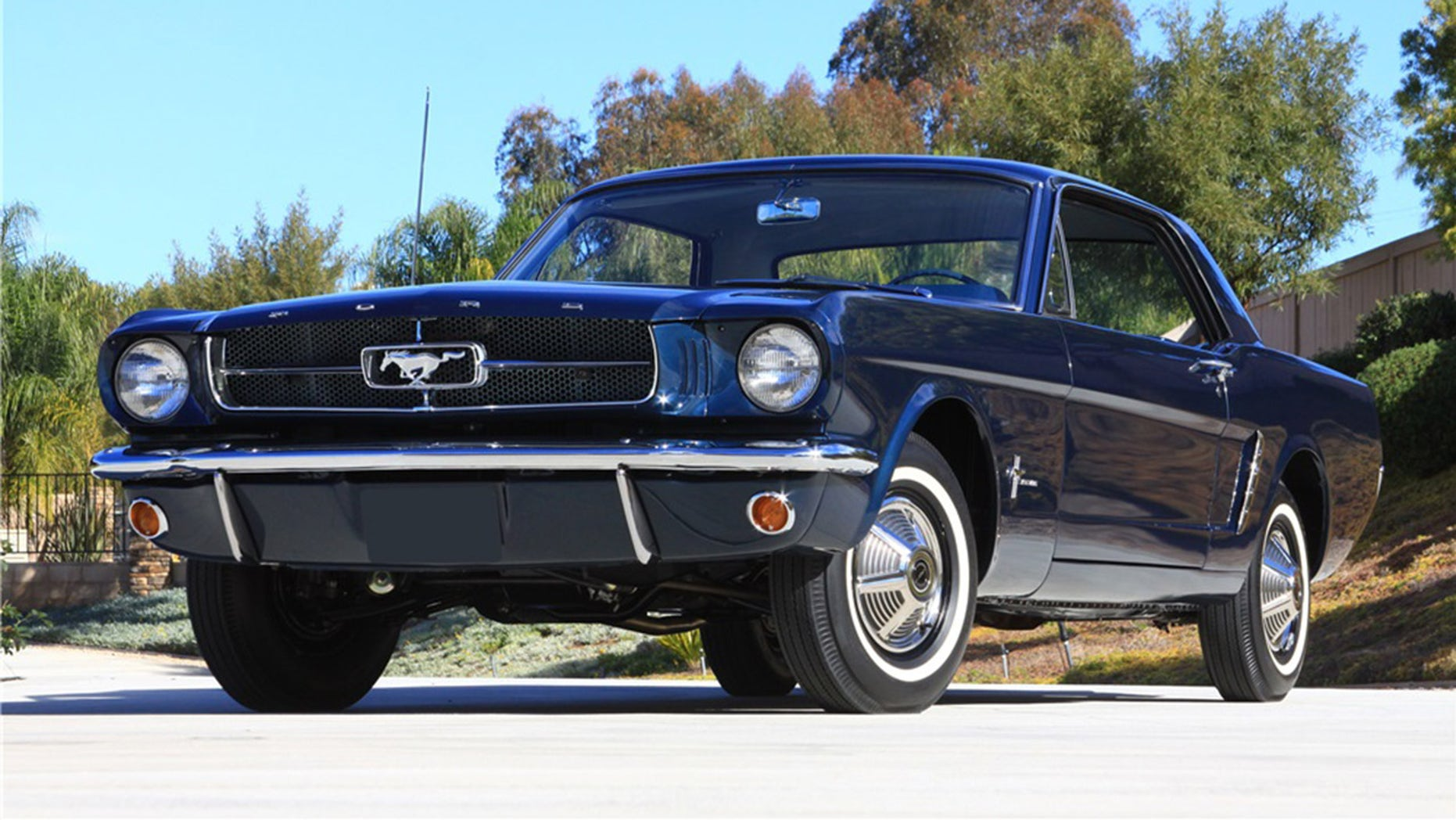 Ford Ford Auction >> The First Mustang Coupe Ford Built Heads To Auction Fox News