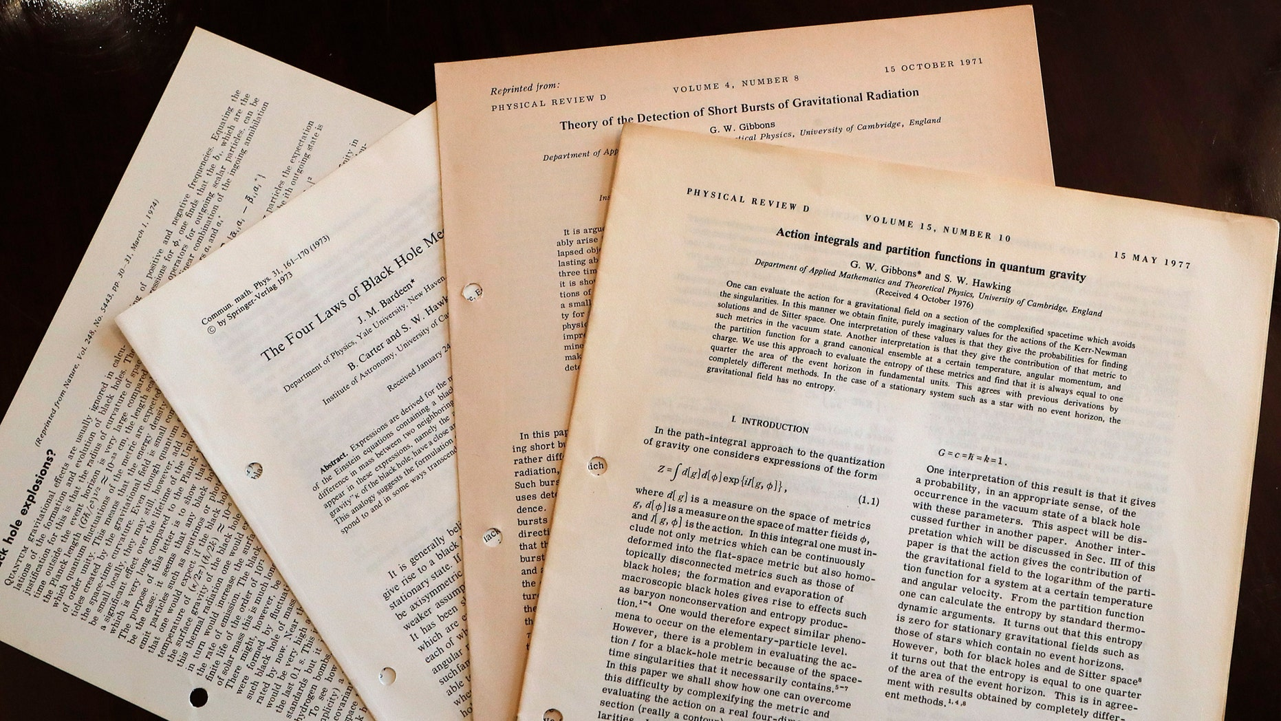 Stephen Hawking's thesis sold for £585,000