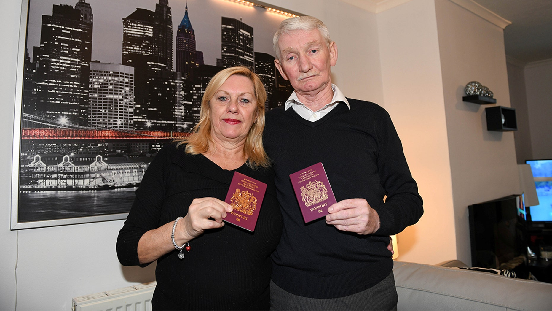 A couple from Scotland might have to cancel their NYC vacation because the husband accidentally labeled himself a terrorist on his visa form.