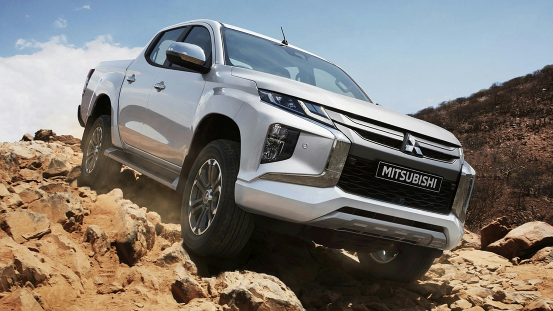 the new mitsubishi triton pickup is ready for the world, but not the