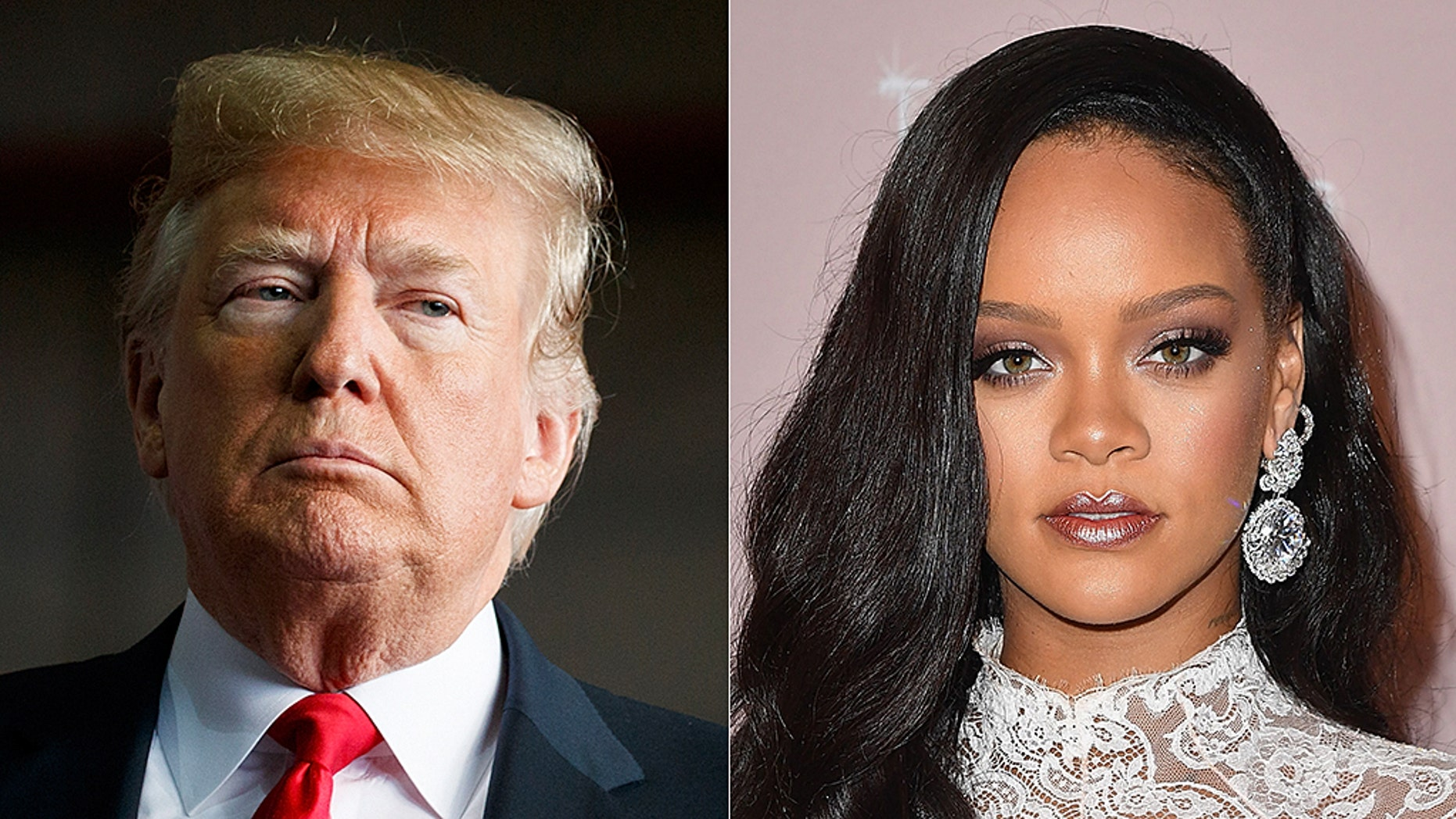 """Rihanna said she's not happy President Trump is using her music at his """"tragic"""" rallies."""