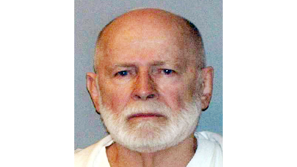 """This file booking photo provided by the U.S. Marshals Service shows James """"Whitey"""" Bulger."""