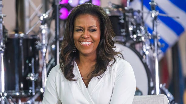 "FILE: Michelle Obama participating in the International Day of the Girl on NBC's ""Today"" show in New York."