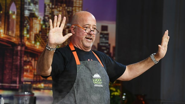 Celebrity Chef Andrew Zimmern said he didn't shower for a year and slept on the floor in an abandoned house while battling addiction.