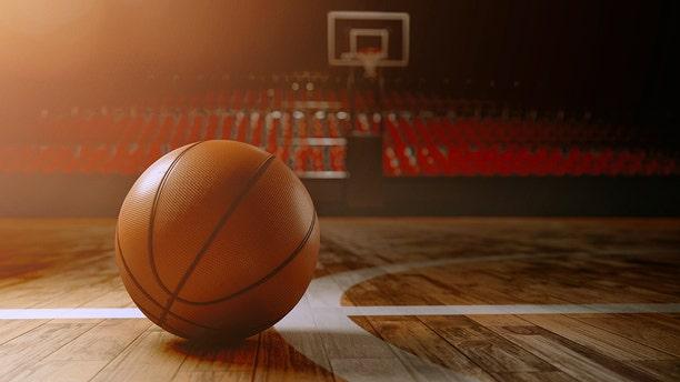 A Team USA player nailed a three-quarters court shot.