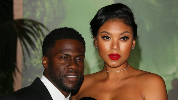 """Kevin Hart and Eniko Parrish faced backlash over their son's """"Cowboys and Indians""""-themed first birthday party."""