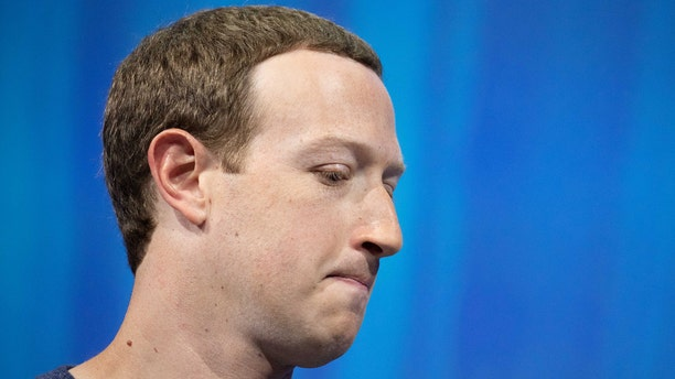 Mark Zuckerberg, chief executive officer and founder of Facebook Inc. attends the Viva Tech start-up and technology gathering at Parc des Expositions Porte de Versailles on May 24, 2018 in Paris.