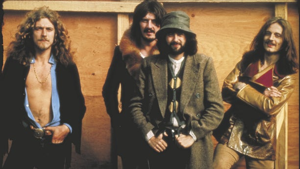 Led Zeppelin Bath Festival (Robert Plant, John Bonham, Jimmy Page, John Paul Jones