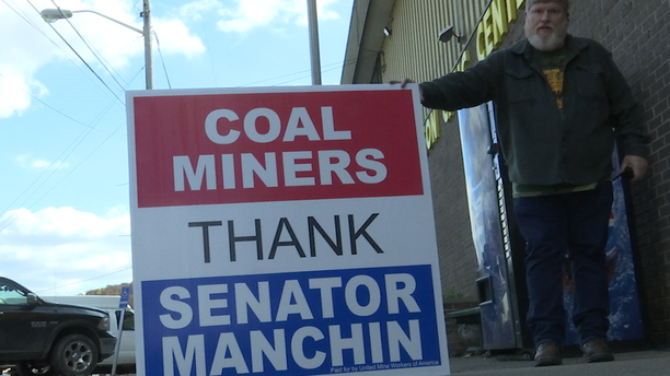 Coal Miner Union hosts rally for Democratic Sen. Joe Manchin ahead of Election Day.