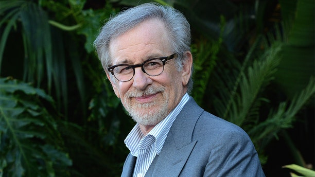 """LOS ANGELES, CA - JUNE 12: Film maker Steven Spielberg arrives for the Premiere Of Universal Pictures And Amblin Entertainment's """"Jurassic World: Fallen Kingdom"""" held at Walt Disney Concert Hall on June 12, 2018 in Los Angeles, California."""