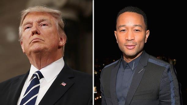 John Legend criticized President Trump on Twitter Wednesday.