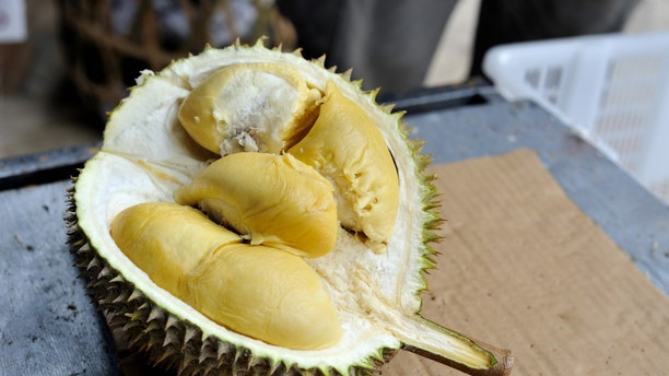 "A shipment of durian, sometimes referred to the ""king of fruits,"" was removed from the plane after complaints."