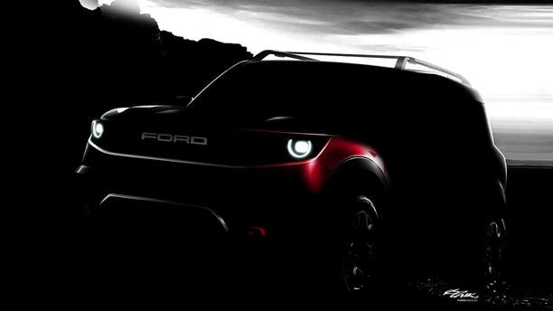 "Ford has not yet announced the name of its ""baby Bronco"" SUV."