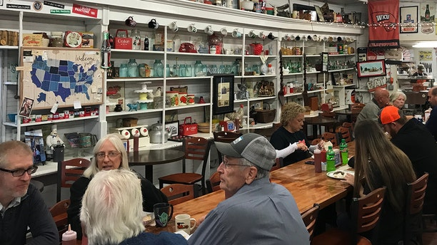 The store was built in 1869 and is filled with antiques, mason jars and old-timey memorabilia.