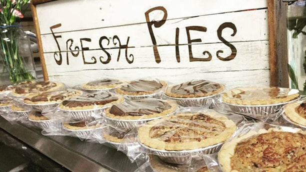 Brie began baking pies professionally when they purchased the store, because what's a general store without pies?