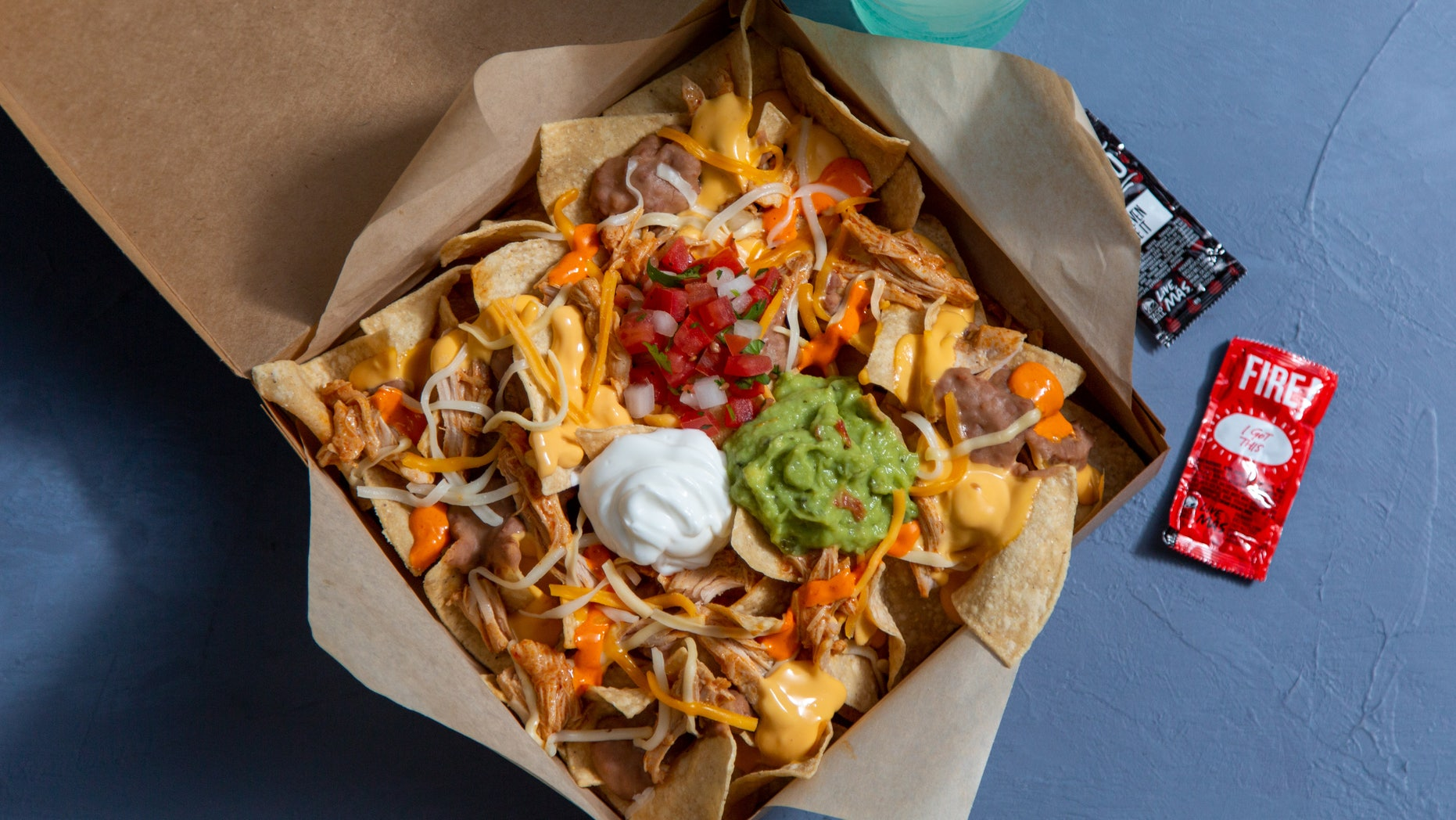 For $5, the Buffalo Chicken Nachos Box will be available in Charlotte, North Carolina, until mid-January.