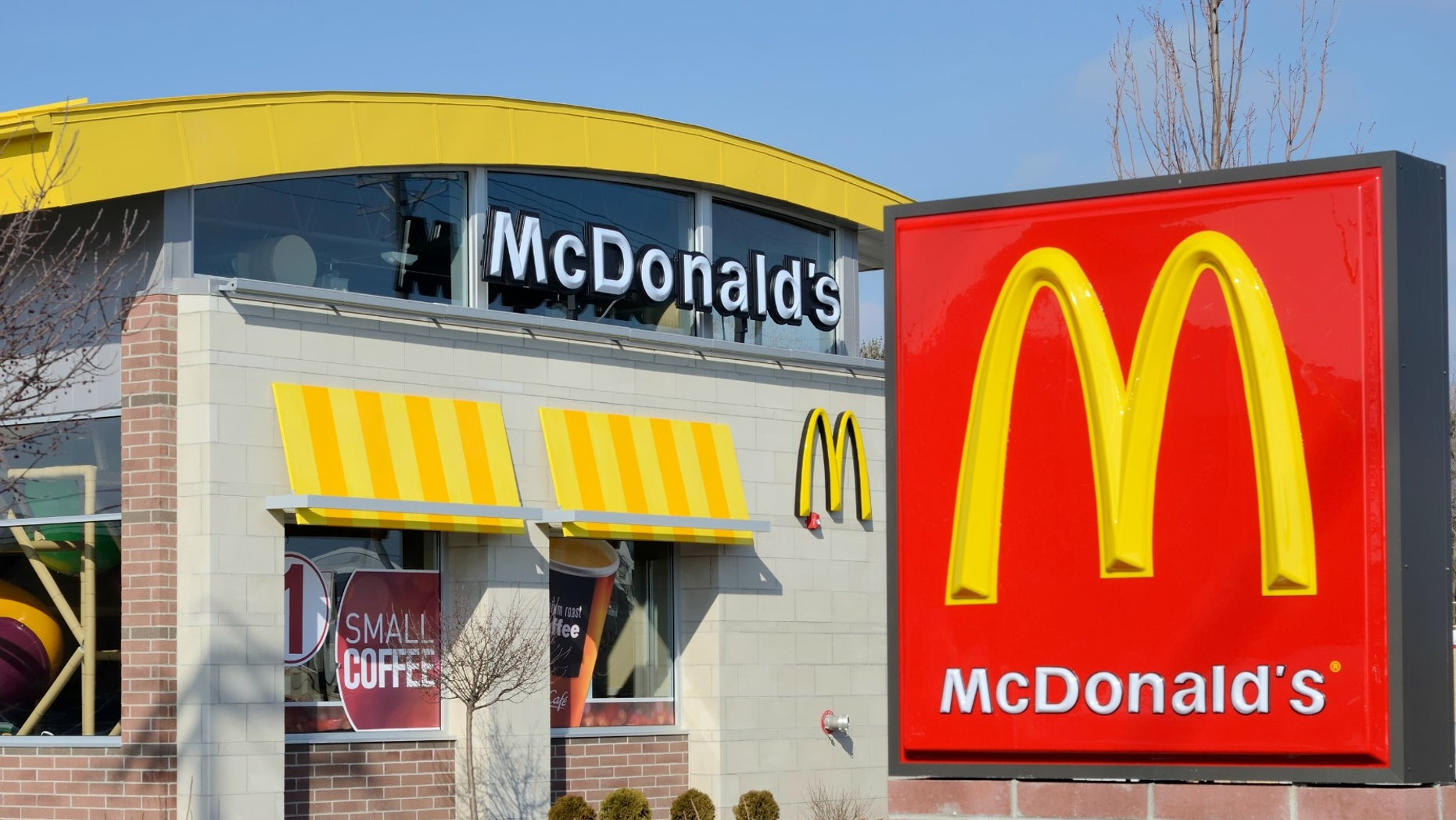 A fight broke out at McDonald's after a group of teens were asked to leave the kid's play area.
