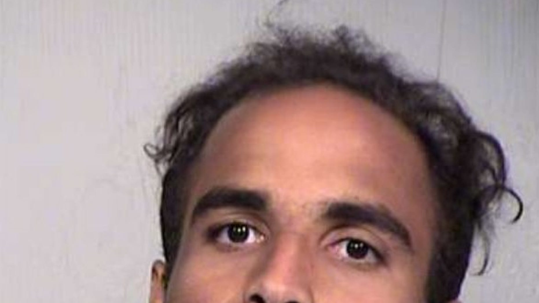 Andre Marc Sutherland, 27, was arrested after he broke into an apartment in Phoenix, Ariz., and was punched in the face by a 13-year-old boy.