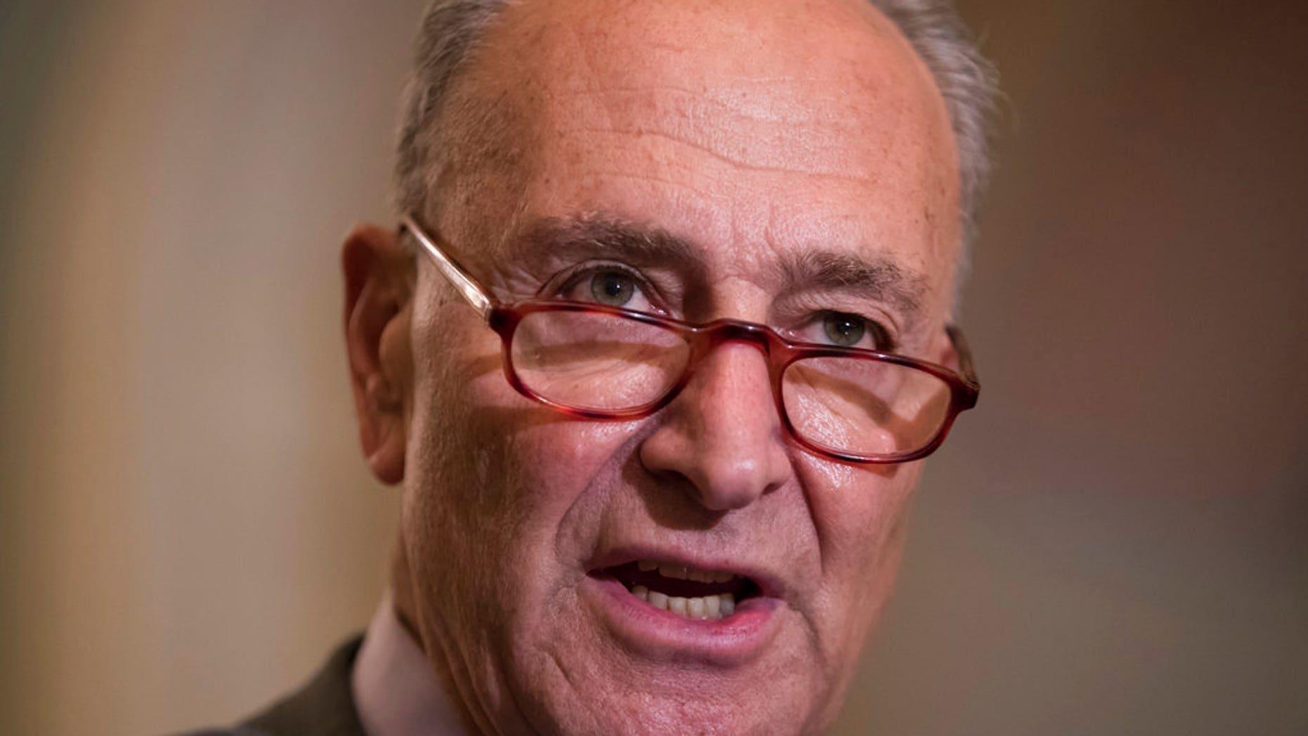 Chuck Schumer, D-N.Y., Chief of Minorities in the Senate.