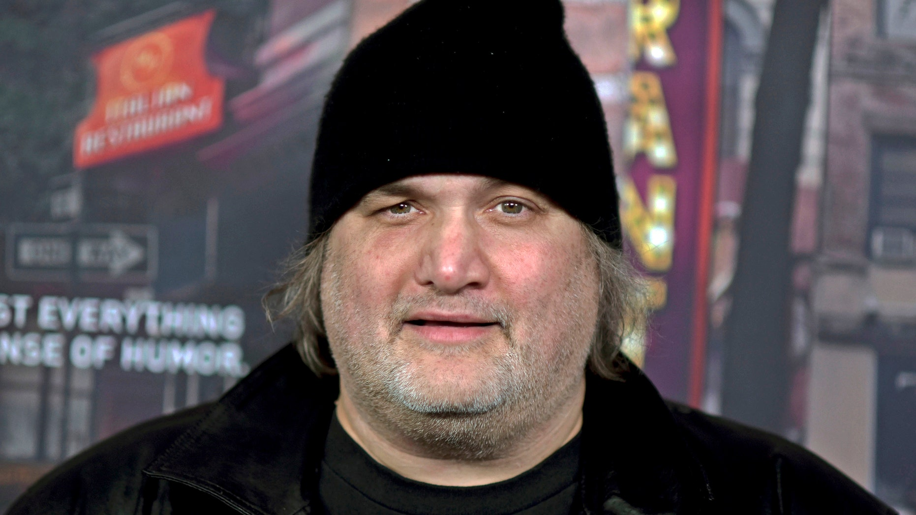 """FILE – In this Feb. 15, 2017, file photo, comedian Artie Lange attends a premiere for HBO's television comedy series """"Crashing,"""" in Los Angeles. A judge has spared comedian Artie Lange jail time even though he tested positive for cocaine and amphetamine."""