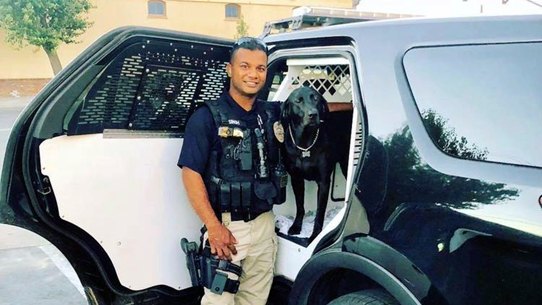 Funeral will be held in California for slain police officer