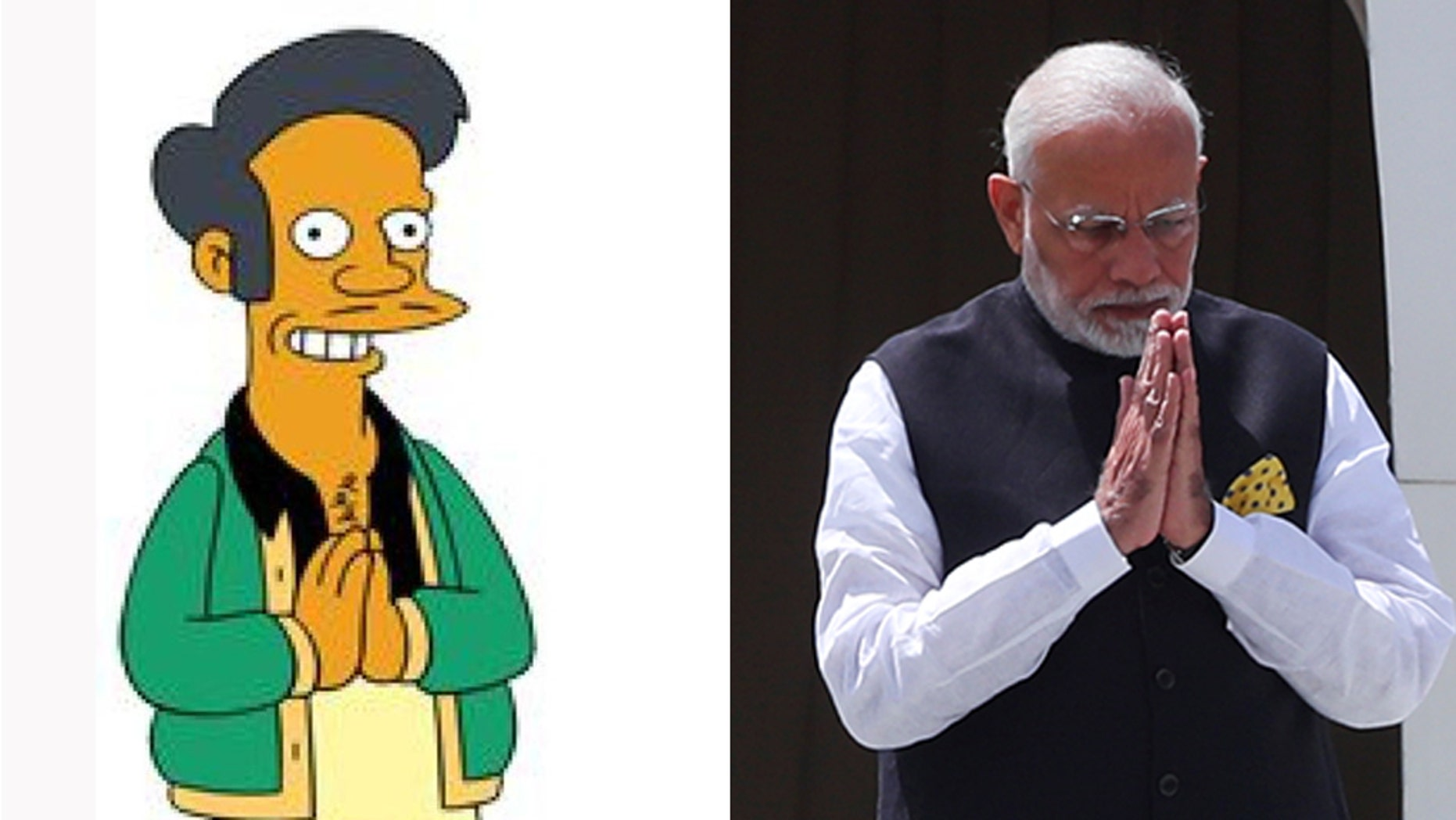 """An Argentine news channel came under fire after it used a picture of """"The Simpsons"""" character Apu when it announced Indian Prime Minister Narendra Modi had arrived in Buenos Aires to attend the G20 summit.<br data-cke-eol=""""1"""">"""