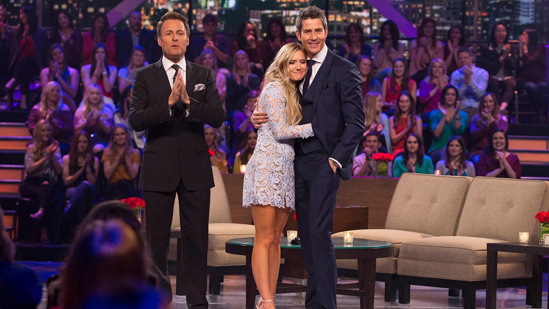 "Chris Harrison, Lauren Burnham and Arie Luyendyk, Jr. on ""The Bachelor: After the Final Rose"""