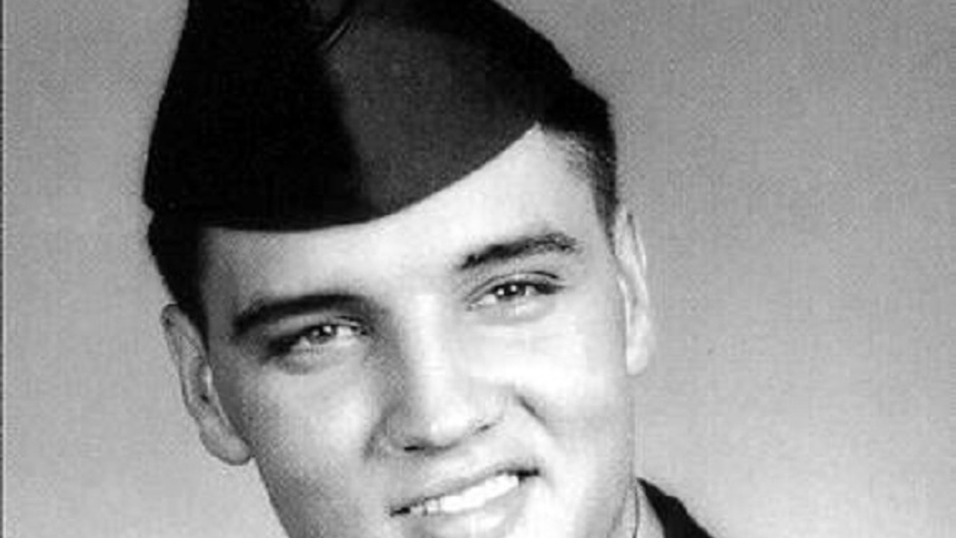 FILE: Elvis Presley entered the United States Army at Memphis, Tennessee, on March 24, 1958.