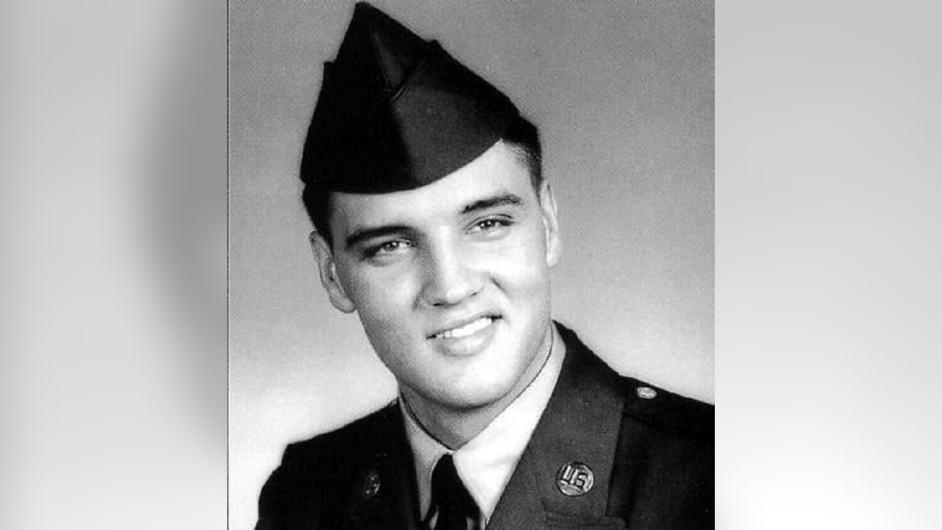 FILE:Elvis Presley entered the United States Army at Memphis, Tennessee, on March 24, 1958.