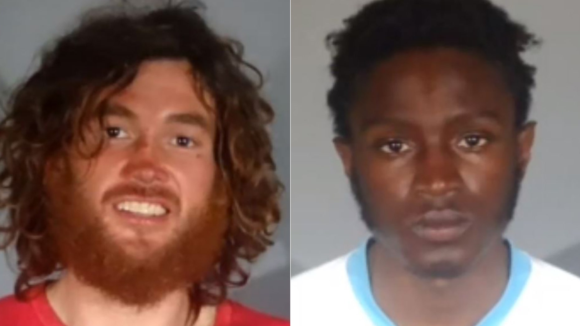 Elijah Smart and Markis White were arrested for allegedly breaking into a Santa Monica, Calif., apartment.