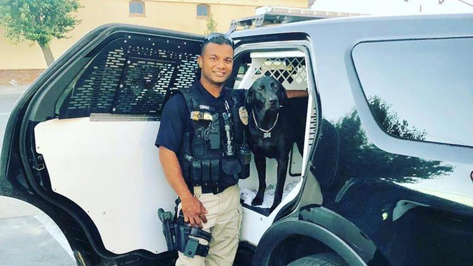 Suspect arrested in shooting death of California officer