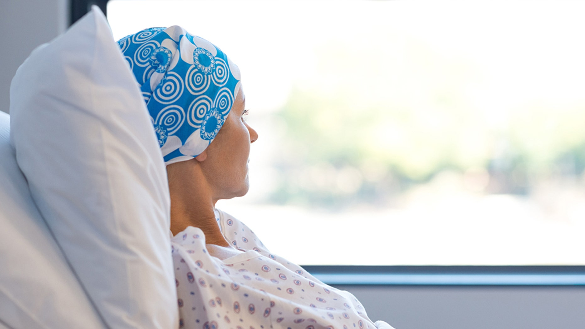 The woman in Ohio claims she is now free of cancer after the clinical trial.