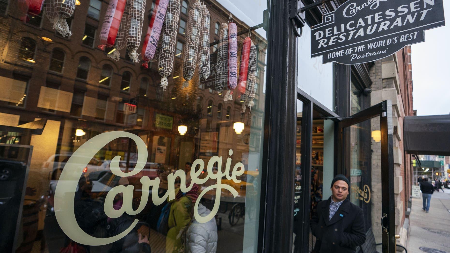 The pop-up location, located in Manhattan's Nolita neighborhood, is running through Saturday.