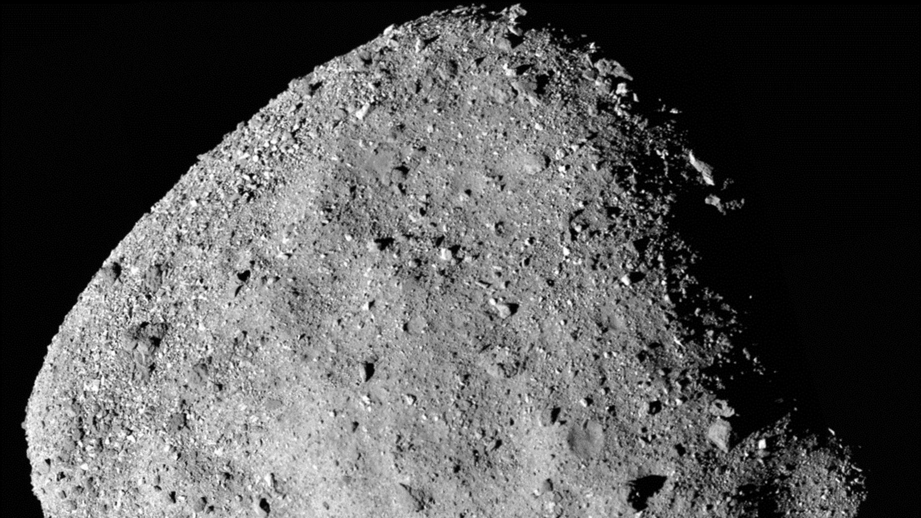 REx Spacecraft finds water on Asteroid Bennu
