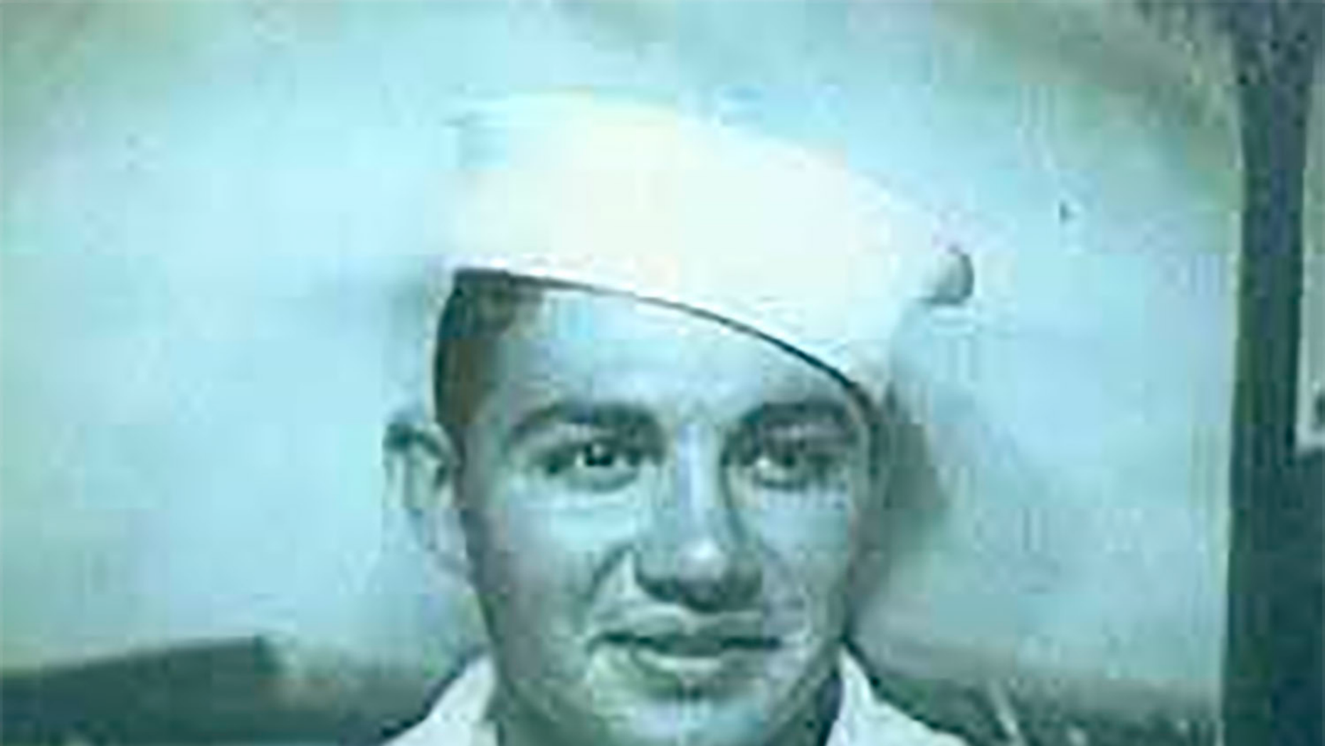 This photo provided by the Defense POW/MIA Accounting Agency shows Navy Seaman 2nd Class Charles C. Gomez, Jr., 19, of Slidell, Louisiana, killed during World War II, and was accounted for on Sept. 19, 2018. On Dec. 7, 1941, Gomez was assigned to the battleship USS Oklahoma, which was moored at Ford Island, Pearl Harbor, when the ship was attacked by Japanese aircraft. The USS Oklahoma sustained multiple torpedo hits, which caused it to quickly capsize. The attack on the ship resulted in the deaths of 429 crewmen, including Gomez. (Defense POW/MIA Accounting Agency  via AP)