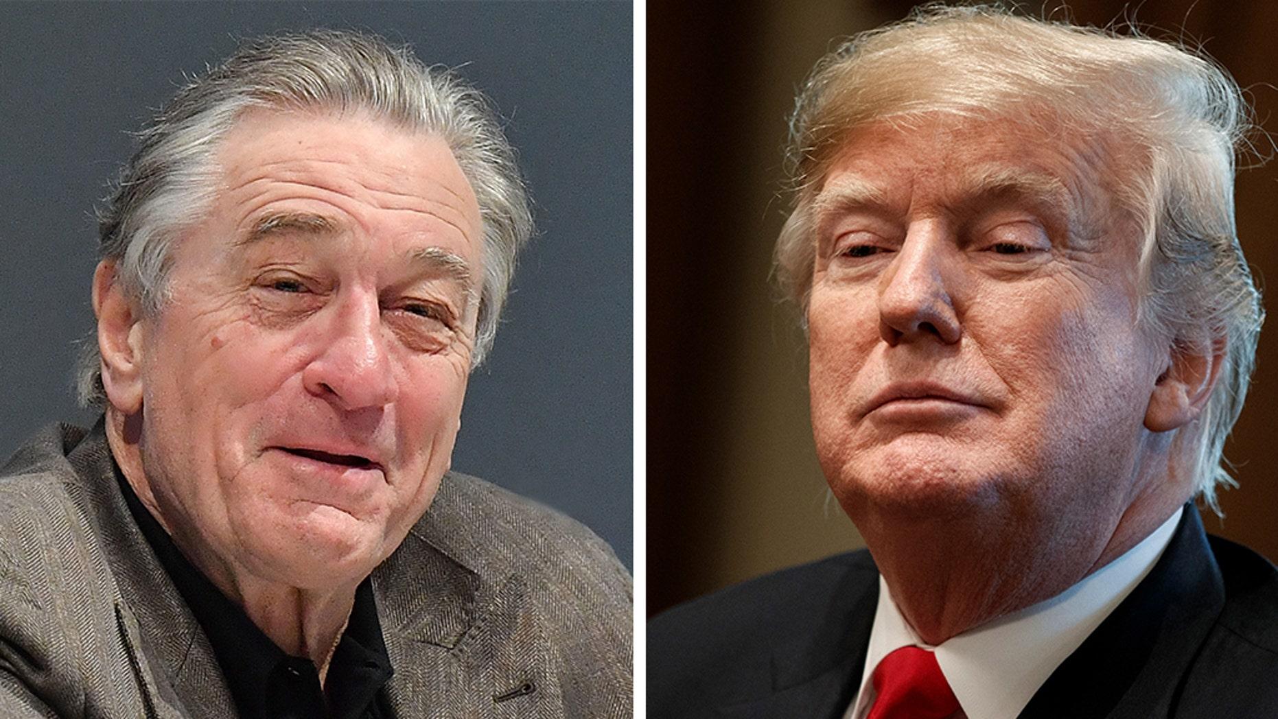 "Robert De Niro slammed President Trump on Monday, labeling the Trump White House a ""nightmare you remember."""