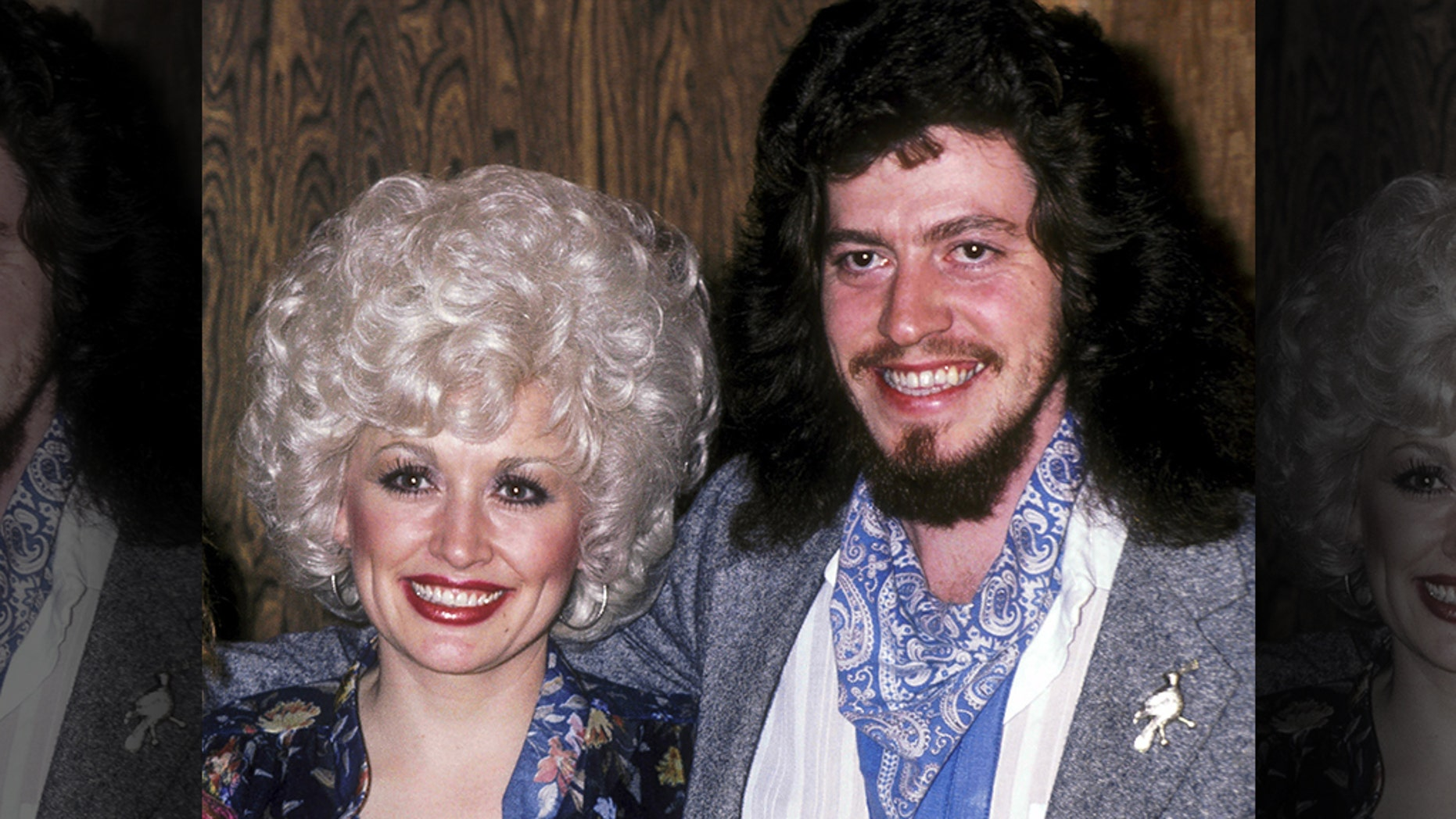 Dolly Parton and Floyd Parton are pictured here on January 15, 1981. Floyd died on Thursday at the age of 61.
